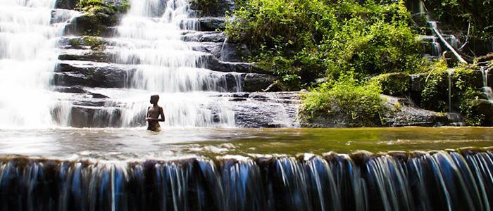 Waterfalls at Man's