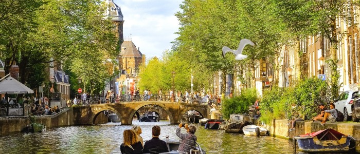 where to travel in January - Amsterdam
