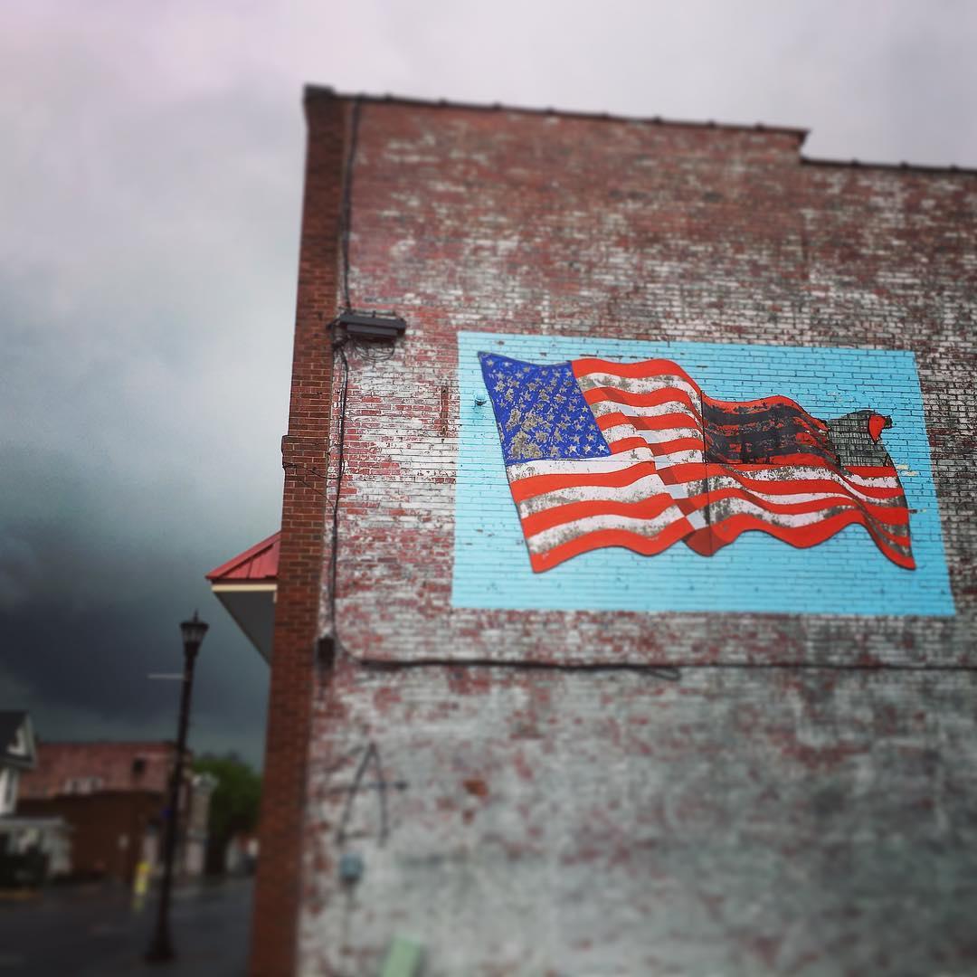 Tazewellflagmural