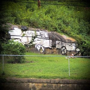 Carswell Train Mural