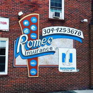 Romeoinsurancemural