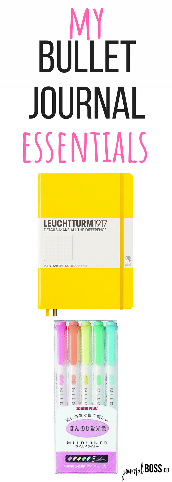Click through for the best notebooks and pens for your bullet journal! Bujo fans, do you agree with my list of essentials??