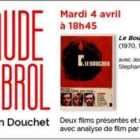 Le 4 avril à l'Institut Lumière : Claude Chabrol par Jean Douchet