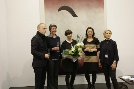 Preisverleihung Art Cologne New Positions Award