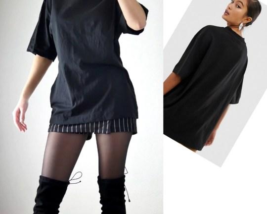 COLLUSION _ tee-shirt noir