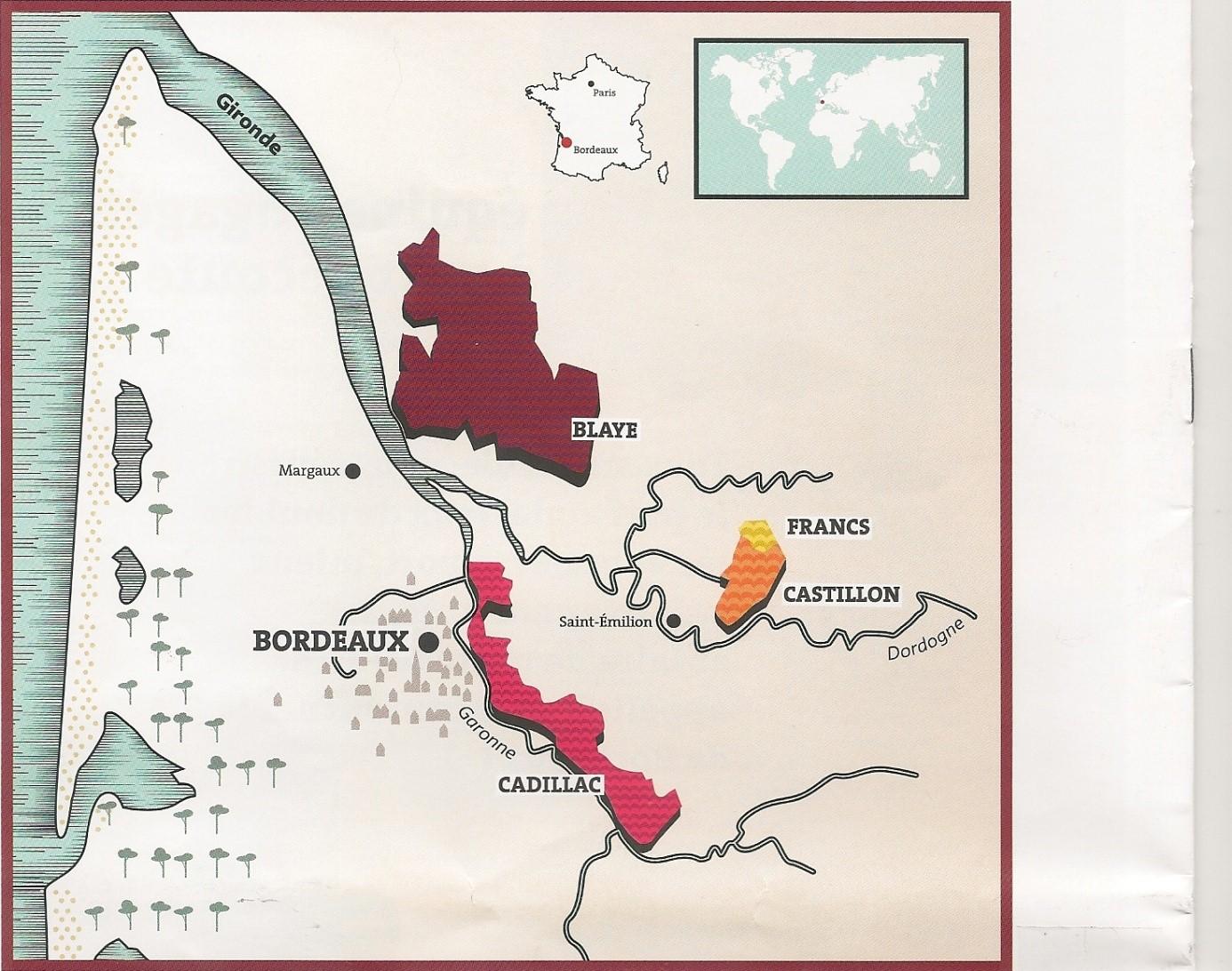 Les vins de Côtes de Bordeaux en face de l'image des vins de Bordeaux : coûteux et compliqués