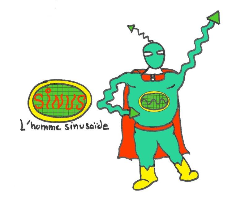 Sinus, l'homme sinusoïde