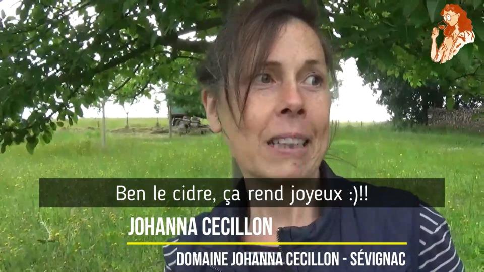 Johanna Cécillon ¦ Cidricultrice à Sévignac, Bretagne