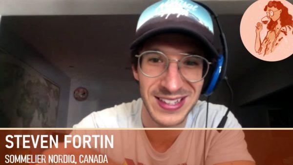 Steven Fortin, Le Sommelier Nordiq et le cidre au Québec