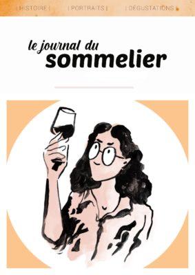 Couverture Journal du Sommelier livre sur vignoble suisse et vin suisse