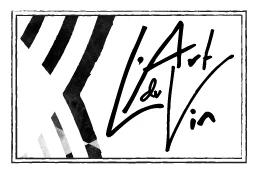 Logo de l'art du vin à Delémont revendeur du journal du sommelier sur le cidre