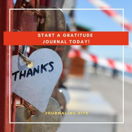 Tips for starting a gratitude Journal today!