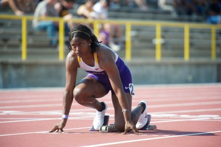 Sprint LSU Track & Field Athletes Sports Tigers