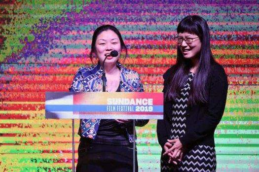 Nanfu Wang and Jialing Zhangat Sundance Film Festival 2019