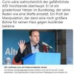 Karl Lauterbach warnt vorn Curio (Bild: Twitter)