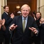 . 13/12/2019. London, United Kingdom. Boris Johnson wins the 2019 General Election. Britain s Prime Minister Boris John