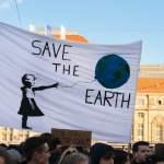 Unter dem Motto Fridays for Future sind am Freitag Mittag 18 Januar 2019 für Klimaschutz und geg
