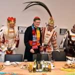 Der Kölner Erzbischof Rainer Maria Kardinal Woelki empfängt das Kölner Karneval Dreigestirn 2019 Jun