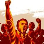 Sozialistische Empörung (Bild: shutterstock.com/Von roompoetliar)