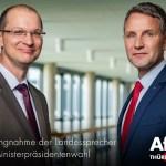 Björn Höcke und Stefan Möller (Bild: AfD)