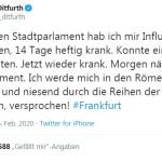 Jutta Ditfurth, die Selbstmordattentäterin? (Bild: Twitter)