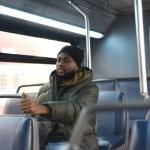 Afrikaner in Bus Schwarzfahrer