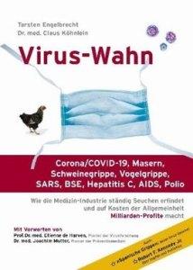 Buch Virus-Wahn - Torsten Engelbrecht Dr. med. Claus Köhnlein - Kopp Verlag - 19,90 Euro