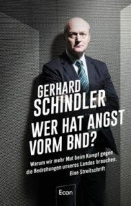 Gerhard Schindler - Wer hat Angst vorm BND - Kopp Verlag - 22,00 Euro