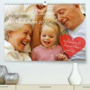 GutscheinKalender für Großeltern (Premium-Kalender DIN A2) - Kopp Verlag - 69,99 Euro