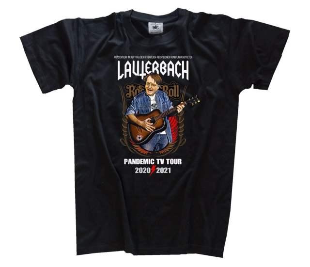 Lauterbach – Pandemic TV-Tour Panikpriester VOLLFARB als T-Shirt, Girlie, Longsleeve, Sweatshirt oder Kapuzenpulli - €19,99 – €38,99