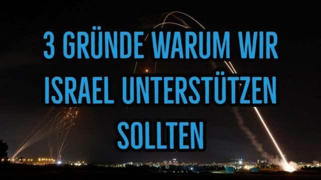 3 Gründe warum wir Israel unterstützen sollten; Bild: Startbild Youtube