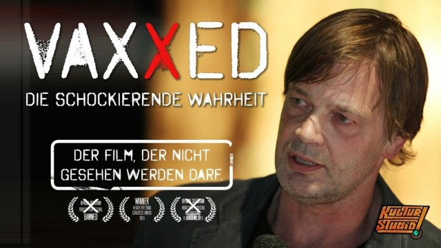 VAXXED – Der Film, der nicht gesehen werden darf   Andrew Wakefield in Berlin; Bild: Startbild Youtube