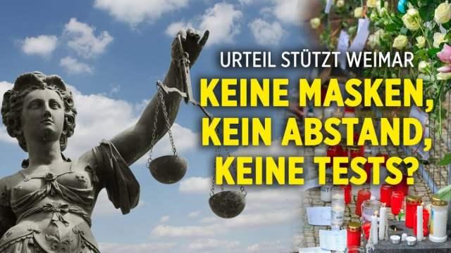 """Oberlandesgerichts Karlsruhe stützt """"Sensationsurteil"""" aus Weimar; Bild: Startbild: Youtube"""