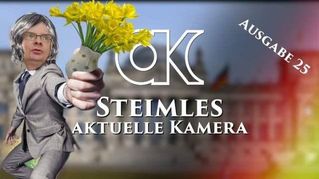 Steimles Aktuelle Kamera / Ausgabe 25;Bild: Startbild Youtube
