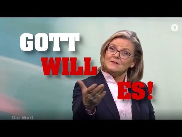 Skandal-Predigt bei ARD: Liebt Gott nur GEIMPFTE?; Bild; Startbild Youtube