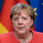 German,Chancellor,Angela,Merkel,Gives,A,Presser,In,Results,Of