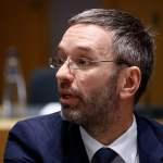 Brussels,,Belgium.,6th,Dec.,2018.,Herbert,Kickl,,Minister,Of,Interior