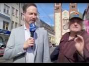 """""""Wir haben Angst in diesem Land!"""" - Mutiger Mann sagt bei ARD Live Schalte seine Meinung; Bild: Startbild Youtube"""