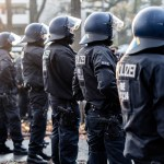 Bremen,,Germany,-,05.12.20:,A,Police,Officer,Of,The,Riot