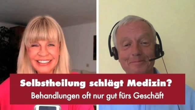 Selbstheilung schlägt Medizin? - Punkt.PRERADOVIC mit Dr. Gerd Reuther; Bild: Startbild Youtubevideo Punkt.PRERADOVIC
