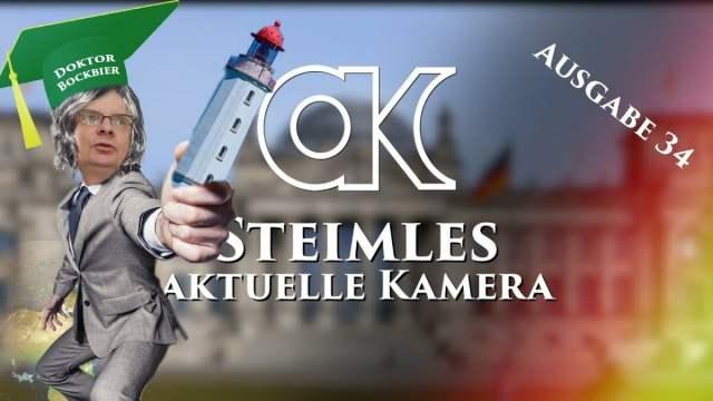 Steimles Aktuelle Kamera / Ausgabe 34; Bild: Startbild Youtubevideo Steimles Welt