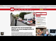 Amsterdam: Kriminalreporter Peter R. de Vries niedergeschossen; Bild: Startbild Youtubevideo Claudia Zimmermann