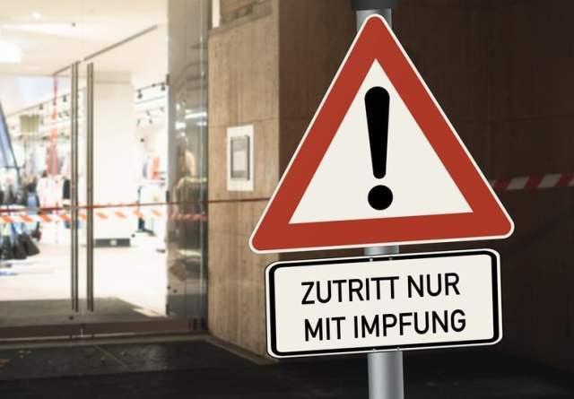 Zutritt nur für Geimpfte (Bild: shutterstock.com/ Von Bihlmayer Fotografie)