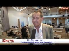 """Dr. Michael Ley: """"Radikale Moslems in Anzügen gefährlicher als Dschihadisten""""; Bild: Startbild Youtubevideo Michael Stürzenberger"""