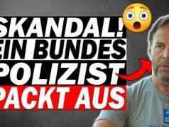 """Bundespolizist packt aus: """"Das hier ist ein Staatsstreich!""""; Bild: Startbild Youtubevideo"""