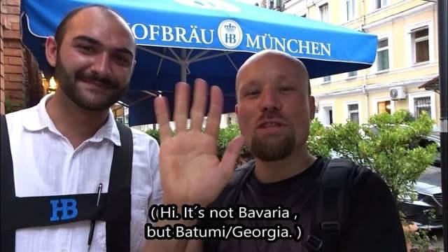Georgien: Auswandern, solange es noch geht?! #Staatenlos #Steuerfrei #Ungeimpft; Bild: Startbild Youtubevideo Billy Six