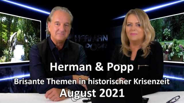 Herman & Popp: Brisante Themen in historischer Krisenzeit - August 2021; Bild: Startbild Youtube Wissensmanufaktur