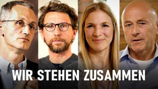 Wir stehen zusammen - die Unternehmerinitiative im Gespräch; Bild: Startbild Youtubevideo Gunnar Kaiser