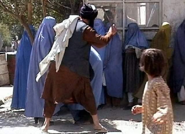 as ist der Islam - Taliban (Bild: RAWA-http://rawa.org/beating.htm; siehe Link;CC BY 3.0)