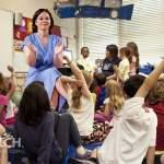 Annalena Baerbock im Kindergarten; Bild: jouwatch Collage
